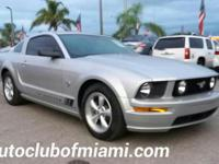 Options:  2009 Ford Mustang Gt Premium 2Dr