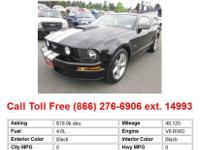 2009 Ford Mustang GT 2dr Coupe Coupe Silver RWD V8 4.6L