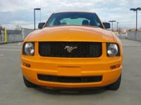 Options:  2009 Ford Mustang V6 Deluxe 2Dr