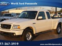 World Ford Pensacola presents this 2009 FORD RANGER 2WD