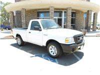 2.3L 4 Cyl. 5spd MANUAL XL. Very clean truck with a