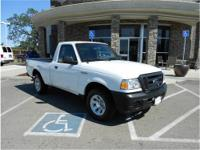2.3L 4 Cyl. 5spd MANUAL XL. Very clean one owner truck
