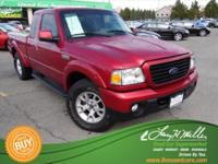 Exterior Color: torch red clearcoat, Body: Extended Cab