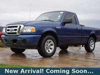 2009 Ford Ranger XLT in Vista Blue Clearcoat Metallic,