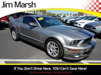 Mustang Shelby GT500, 2009 model with a clean Carfax!