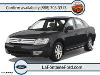 New Arrival! This 2009 Ford Taurus Limited will sell