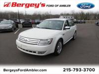 White 2009 Ford Taurus Limited FWD 6-Speed Automatic