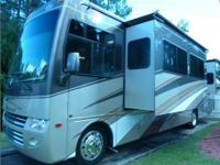 This is a 2009 Four Winds Magellan 36E Class A