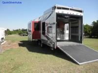 35 FT 5th Wheel Toy Hauler, INTERIOR: Stereo