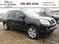 Options:  2009 Gmc Acadia Sle1|Black/|V6 3.6L