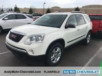 GMC Acadia  Clean CARFAX.  **Accident Free Carfax