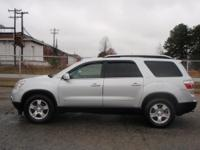Options:  2009 Gmc Acadia Slt Awd 4Dr
