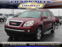 Options:  2009 Gmc Acadia Slt-2|Awd Slt-2 4Dr