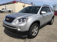 2009 GMC ACADIA SLT2. EXTERIOR COLOR SILVER. FWD. WITH