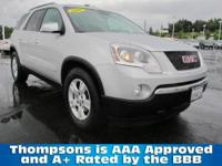 2009 GMC Acadia SLT with ALL WHEEL DRIVE and a Long