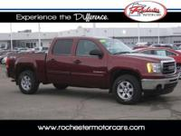 2009 GMC Sierra SLE, 4WD with 62,488 miles. This trade