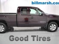 Sierra 1500 SLE, 4WD, Red, Cloth, Air conditioning, CD
