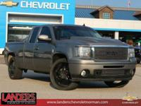 Steel Gray Metallic 2009 GMC Sierra 1500 SLE RWD