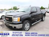 Recent Arrival! Black GMC Sierra 1500 **LOCAL TRADE
