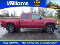 Options:  2009 Gmc Sierra 1500|Red|3.42 Rear Axle