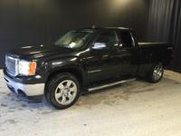 2009 GMC Sierra 1500 SLE in Onyx Black, One Owner