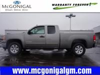 Exterior Color: steel gray, Body: Extended Cab Pickup,