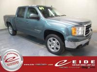 This 2009 GMC Sierra 1500 SLT Crew Cab is Stealth Gray