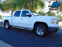 Sierra SLT with leather, moonroof, bedliner, towing