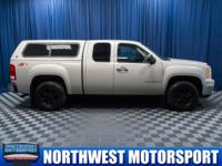 Clean Carfax 4x4 Truck with Canopy!  Options:  Rear