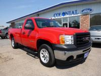 ONLY 5,000 MILES!! This Sharp, 2009 GMC Sierra 1500 WT