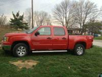 2009 GMC Sierra Truck in Excellent Condition Red