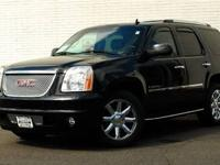 This 2009 GMC Yukon Denali 4dr AWD 4dr SUV features a