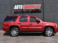 This 2009 GMC Yukon 4dr SLT features a 5.3L V8 OHV 16V