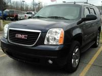 This one owner, 2009 GMC Yukon has leather seating,