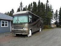 38 ft. independence motorhome, 360 diesel cummings,