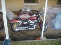 """Very Nice 2009 Harley """"Fat Bob"""" Dyna Model FXDF"""