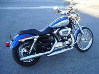 Gorgeous 2009 Harley Davidson XL200C Custom, factory