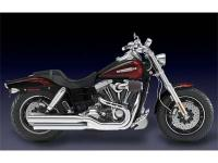 the CVO Fat Bob model is swagger and sophistication.