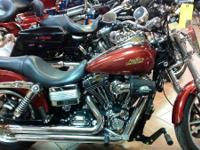 2009 Harley-Davidson Dyna Low Rider Beautiful color.