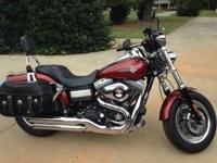 2009 Harley Fat Bob Dyna, 9046 miles, excellent