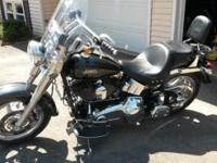 I have a 2009 Harley Davidson Fat Boy for sale. The