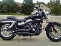 SHOWROOM CONDITION....09 FATBOB. Always garaged and