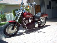 This is 1 owner Red 2009 Harley Davidson that has been