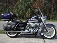 2009 Harley Davidson Road King Classic with 10k careful