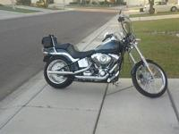 Here is a beautiful 2009 Harley-Davidson FXSTC Softail
