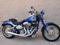 2009 Harley-Davidson FXSTSSE3 CVO Softail Springer At