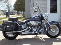 This beautiful 2009 Harley Davidson Heritage Softail