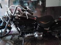 2009 Harley Davidson Rocker C, 6,370 miles, Black red