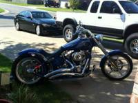 2009 Harley Davidson Rocker C Cruiser. 18500.00 or best