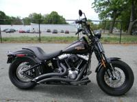 2009 Harley-Davidson Softail Cross Bones BLACK ONLY